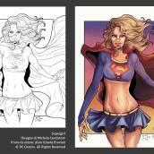 Disegno di Michela Cacciatore, colore di Alice Kinoki Previati